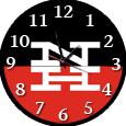 railroad clocks, train clocks, logo clocks, logos, clocks, trains, railroads, collectibles, room decor