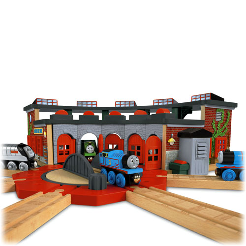 Interesting Thomas And Friends Wooden Railway Tidmouth Sheds Deluxe ...