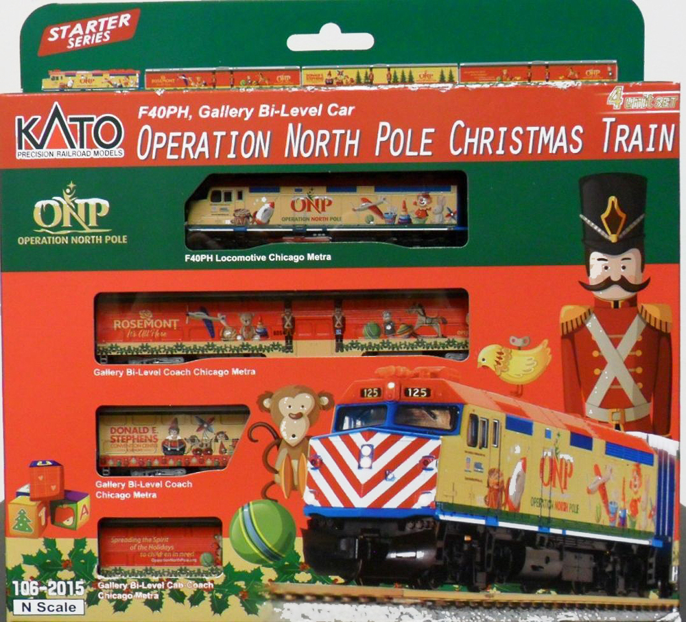 operation north pole christmas train click here for larger image - Christmas Train Chicago